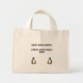 Geek since birth. Linux user since 2004. Tote Bags