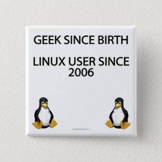Geek since birth. Linux user since 2006. Pinback Button
