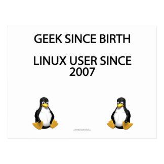 Geek since birth. Linux user since 2007. Postcard
