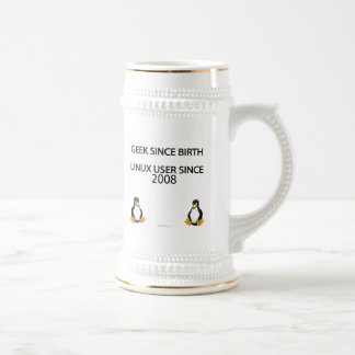 Geek since birth. Linux user since 2008. Beer Stein