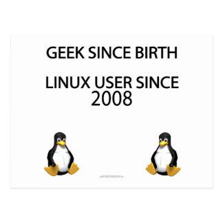 Geek since birth. Linux user since 2008. Postcard