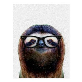 Geek Sloth Postcard