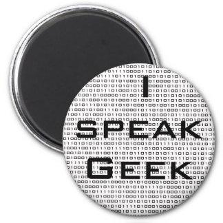 Geek speak magnet