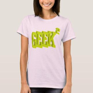 Geek Squared Women Pink T-Shirt