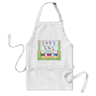 GEEK Street  7 CUBE : Kids Paper Craft Lessons Adult Apron