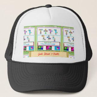 GEEK Street  7 CUBE Paper Craft Lessons Trucker Hat