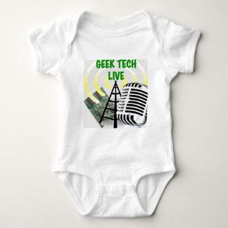Geek Tech Live Gear! Baby Bodysuit