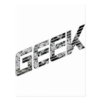 Geek Techie Stuff Postcard