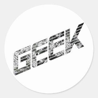 Geek Techie Stuff Sticker