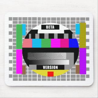 Geek Tees, BETA VERSION TEST PATTERN Mouse Pad