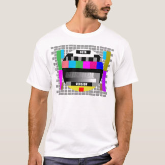Geek Tees, BETA VERSION TEST PATTERN T-Shirt