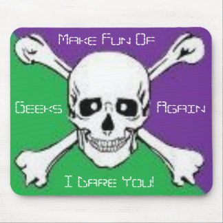 Geek Threats Mouse Pad