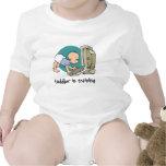 geek toddler in training t shirt or