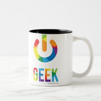 Geek Two-Tone Coffee Mug