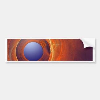 geek vibrations bumper sticker