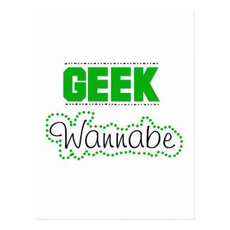 Geek Wannabe Postcard