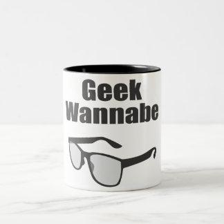 Geek Wannabe Two-Tone Coffee Mug