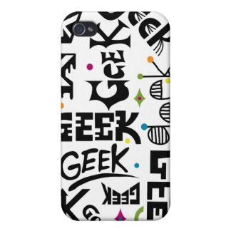 Geek with Words case iPhone 4/4S Covers