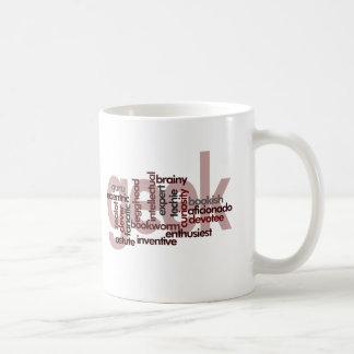 Geek Word Cloud Coffee Mug