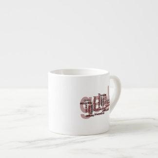 Geek Word Cloud Espresso Cup