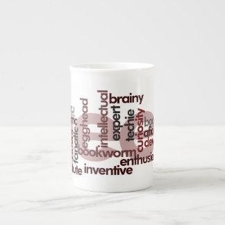 Geek Word Cloud Tea Cup