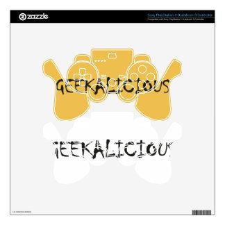GEEKALICIOUS DECAL FOR PS3 CONTROLLER
