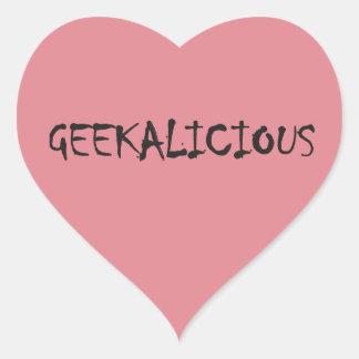 GEEKALICIOUS HEART STICKER