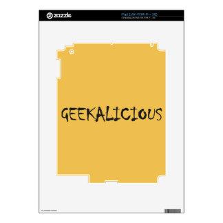 GEEKALICIOUS iPad 2 SKIN