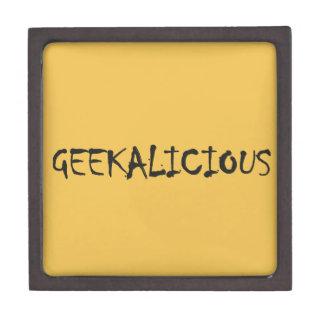 GEEKALICIOUS JEWELRY BOX