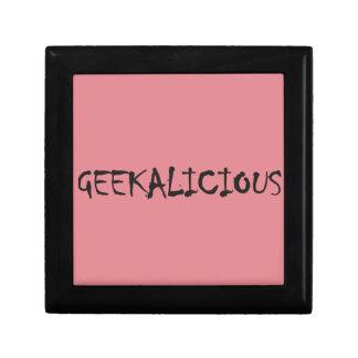 GEEKALICIOUS KEEPSAKE BOX