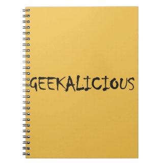 GEEKALICIOUS NOTEBOOK
