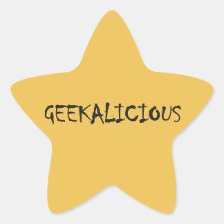 GEEKALICIOUS STAR STICKER