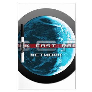 GeekCast Radio Network Dry Erase Board