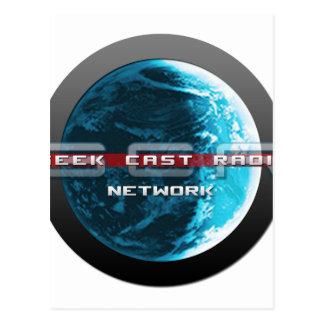 GeekCast Radio Network Postcard