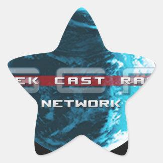 GeekCast Radio Network Star Sticker
