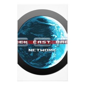 GeekCast Radio Network Stationery