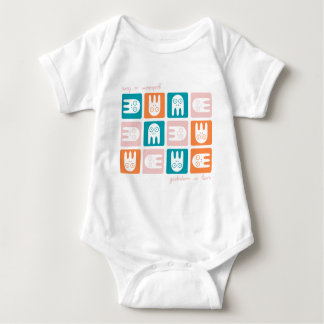 Geekdom Is Love Baby Bodysuit