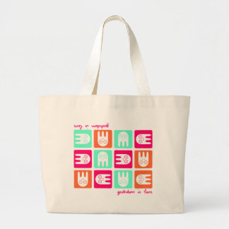 Geekdom os Love Large Tote Bag
