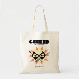 GEEKED Magazine- Mask Pen and Brush Tote Tote Bag