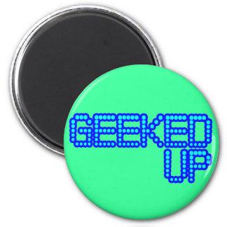 GEEKED UP blue jerkin jerk dance guys an girls Magnet