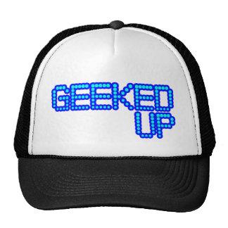 GEEKED UP blue jerkin jerk dance guys an girls Trucker Hat
