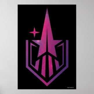 Geekerella Starfield Logo Poster