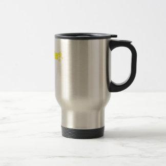 Geekette amarillo taza de café