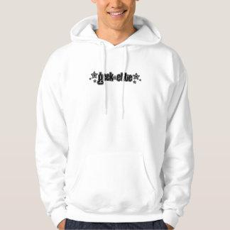 Geekette negro sudadera con capucha