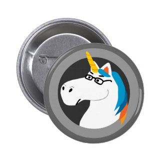 Geekicorn Button