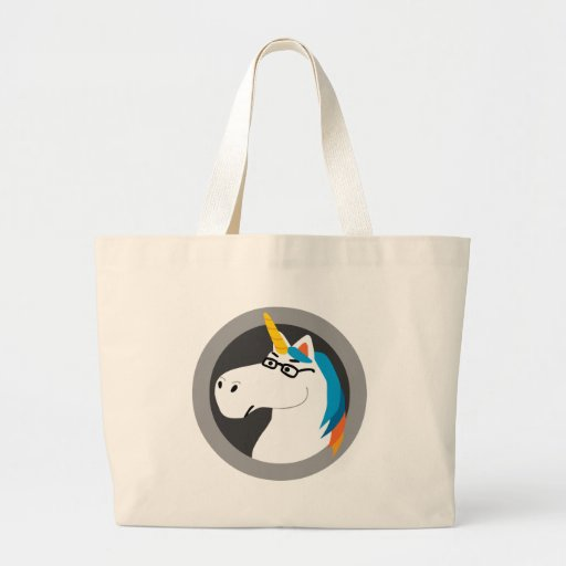 Geekicorn Jumbo Tote Bag