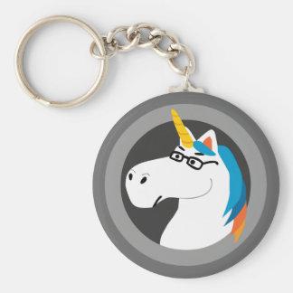 Geekicorn Keychain