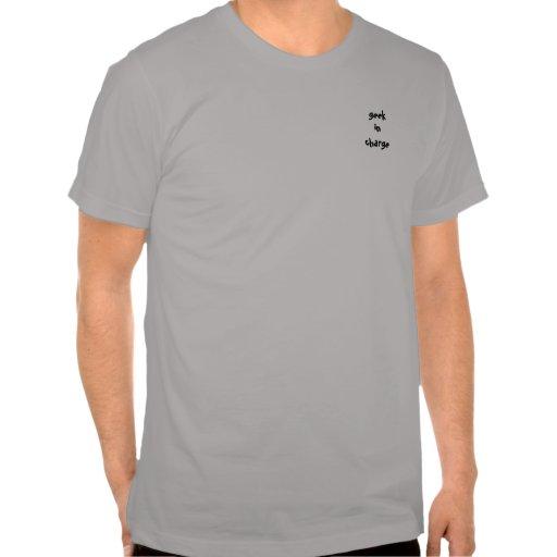 geekin charge tee shirts