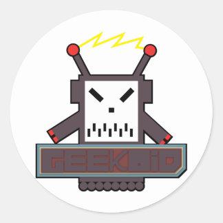 Geekoid Sticker