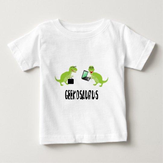 geekosaurus baby T-Shirt